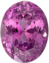 GIT Certified Delicious Unheated Pink Sapphire Stone from Madagascar for SALE! Oval Cut, 10.8 x 8.4 mm, 3.89 carats