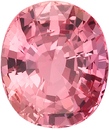2 carat Padparadscha Sapphire Stone in Rich Orange-Pink Color in 7.99 x 6.72 mm, 2.04 Carats - With GRS Certificate