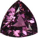 Unusual Color in Trillion Genuine Rich Violet Spinel, 9.6mm, 3.08 carats
