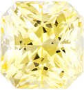 Impressive Unheated Yellow Sapphire Gem In Killer Fine Radiant Cut, GIA Cert, Strong Yellow Color in 6.0 x 5.7 mm, 1.47 carats - With GIA Certificate