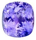 Unbelievable Unheated Medium Lavender Blue Sapphire for SALE - Great Clarity, Cut & Life, With AGL Certificate, Cushion Cut, 3.73 carats -- SOLD