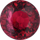 Special Buy On Ruby Loose Gem in Round Cut, Vibrant Red, 5.75 mm, 1.03 Carats
