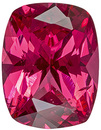 Elegant Burmese Natural Red Spinel for SALE! Cushion Cut, 6.8 x 5.3 mm, 0.86 carats