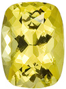 Lovely Yellow Lemon Ceylon Gemstone With Great Life - Desirable Shape, Cushion Cut, 3.21 carats