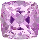 Beautiful Well Priced Fine Pink Kunzite Loose Gemstone, Nigerian, Antique-Square cut, 9.58 carats