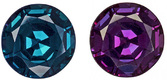 Rare Color in Alexandrite Gem With GIA Pedigree, Huge Round, 6.70 mm, 1.50 carats