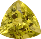 Dreamy Unheated Mali Grossular Garnet Loose Gemstone - Great Centergem, Best Buy! Trillion Cut, 5.31 carats