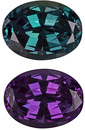 Simply Best 100% Color Change Real Alexandrite Stone - Excellent GEM, Oval Cut, 0.72 carats - SOLD
