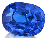True Cobalt Vietnamese Spinel Loose Gem in Oval Cut, 5.47 x 4.16 mm, 0.46 carats with GIA Certificate
