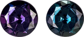 Deal on Eggplant to Blue Green Alexandrite Loose Gem in Round Cut, 4.1 mm, 0.31 Carats