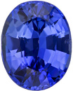 Low Price on GIA Certified Unheated Rich Blue Sapphire Loose Gem in Oval Cut, Vivid Blue, 7.28 x 5.73 mm 1.35 carats