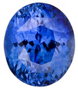 So Bright  Exceptional Blue Unheated Ceylon Sapphire Gemstone for SALE, Oval Cut, 4.16 carats, with AGL Certificate