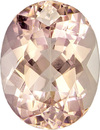 Vibrant Light Peach Morganite Loose Mozambique Gem in Oval Cut, 9 x 6.9 mm, 1.73 Carats - SOLD