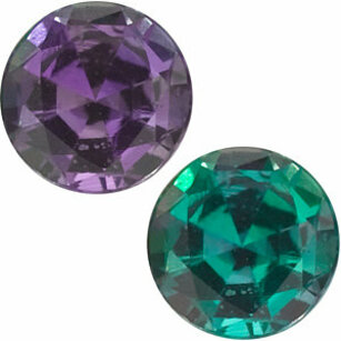 Grade AAA - Genuine Round Alexandrite 1.50 mm to 4.25mm