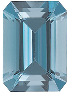 Grade AAA - Emerald Genuine Aquamarine 5.00 x 3.00 mm to 8.00 x 6.00 mm