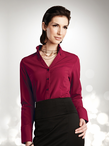 Ladies Fitted Cocktail Blouse