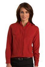 Ladies Mandarin Collar Bistro Server Shirt