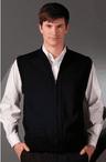 Unisex Heavyweight Zipper Cardigan Sweater Vest
