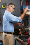 Men's Wrangler Premium Work Wear Uniform Shirt