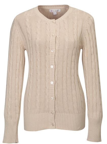 Cable Sweater Ladies Sweater Vest