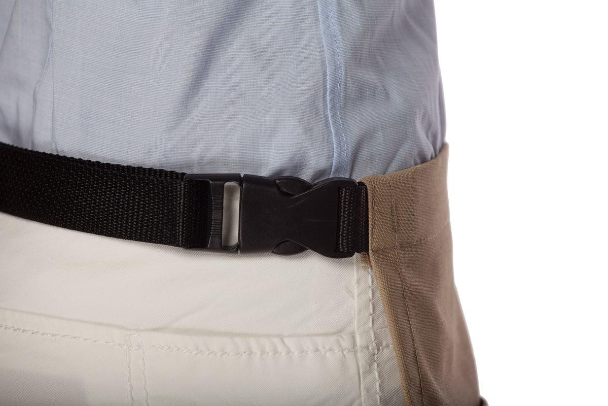 Three Pocket Waist Apron Belt Buckle Apron