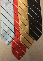 Server Narrow Stripe Polyester Tie