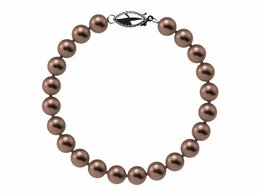 6.5 x 7mm Mocha Freshwater Pearl Bracelet