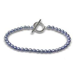 Blue Japanese Akoya Pearl Bracelet