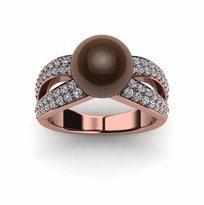 Tahitian Mocha Pearl Joyce Ring
