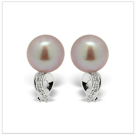 Levi Freshwater Cultured Pearl Earring