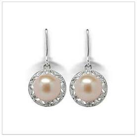 Amira Dangle a Freshwater Cultured Pearl Earring
