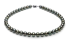 Tahitian Pearl Neck l Serial Number | 9-9mmto8-2mm-tahitian-south-sea-pearl-necklace-true-aaa-16inch-s8-xb01349-b27