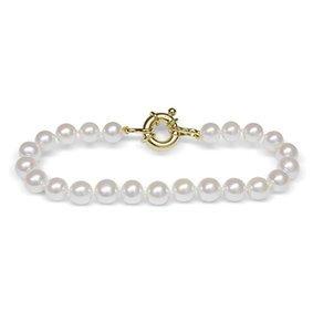 Spring Pearl 6.5 x 7mm Freshwater Pearl Bracelet