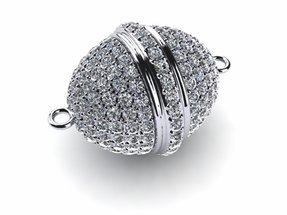 Diamond Egg Clasp