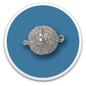 Diamond Ball Clasps