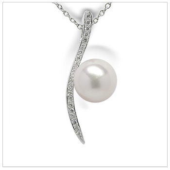 Rio a Japanese Akoya Cultured Pearl Pendant