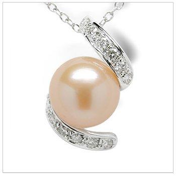 Fresh Swirl Freshwater Pearl pendant