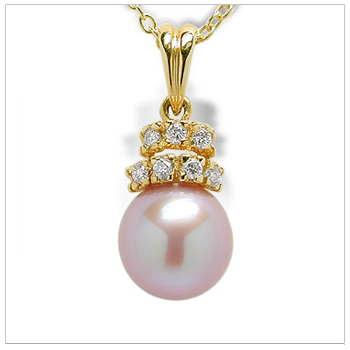 Dutches a Freshwater Pearl Pendant