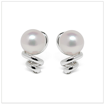 Mirabella a Japanese Akoya Cultured Pearl Earring