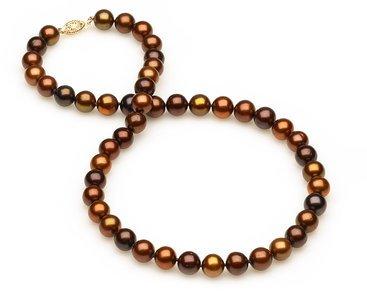 8mm Multicolor Mocha Pearls