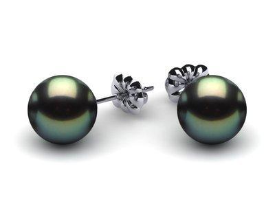 Tahitian Pearl Earring Studs | Starting at $165