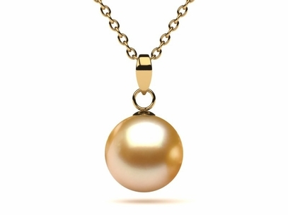 Golden south sea pearl pendants americanpearl golden south sea pearl casse pendant aloadofball Image collections