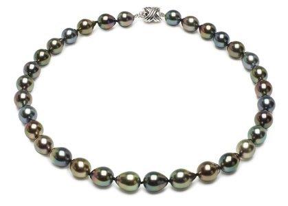 Tahitian Black Baroque South Sea Pearl Necklaces