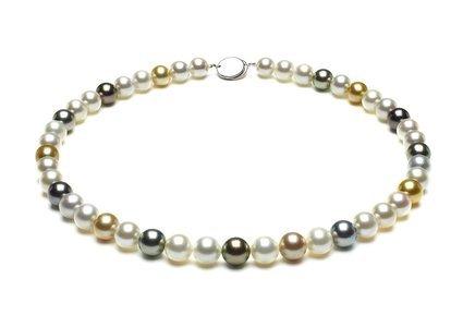 Multicolor South Sea Pearl Necklaces