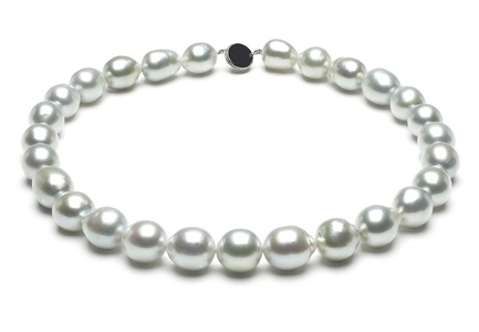 White South Sea Baroque Pearl Necklaces