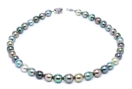 8 x 10mm Tahitian Pearl Necklace Serial Number | s10-multi-color-b17
