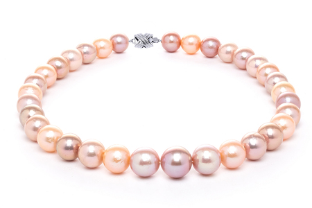 12mm x 15mm Multicolor Freshwater Cultured Pearl Necklace
