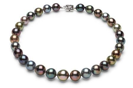 Tahitian Multicolor South Sea Pearl Necklaces
