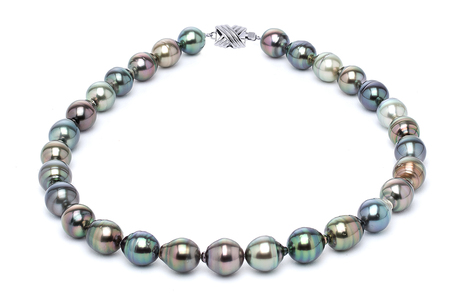 11 x 13m Tahitian Pearl Necklace Serial Number | s10-multi-color-b36
