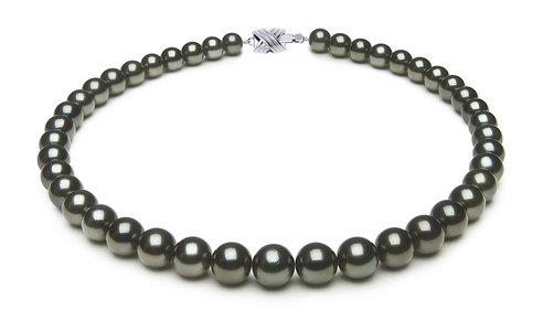Tahitian Pearl Necklace | Serial Number 8-4mmto10-3mm-tahitian-south-sea-pearl-necklace-true-aaa-16inch-s9-xe04416-b14